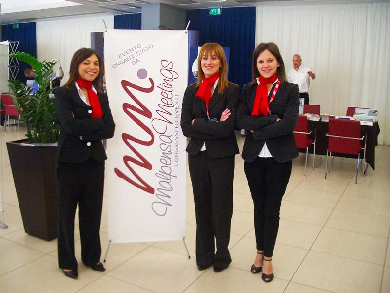 Hostess e personale per eventi e fiere Malpensa Varese Milano Italia