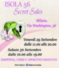 Isola 56 Secret Sales