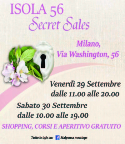 Isola 56 Secret Sales