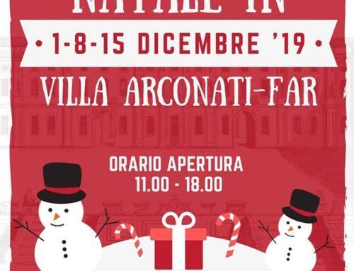Mercatini di Natale in Villa Arconati-FAR